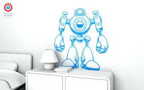 wall decals nursery boy robot wall decal nursery kids rooms wall decals boy room robot kids