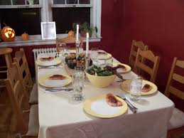 kitchen table with food. Dinner Table Kitchen With Food D