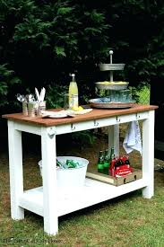 outdoor bar cart on wheels home furniture serving l room remodel with carts cooler palm harbor wicker outdoor bar