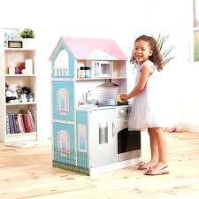 costco doll house doll house posh 2 in 1 dollhouse and kitchen combo dollhouse doll house