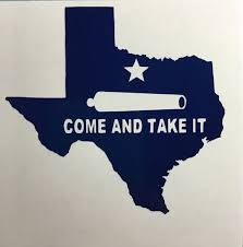 Come And Take It Decal Texas Decal by GraphixByJamie on Etsy | Yeti ...