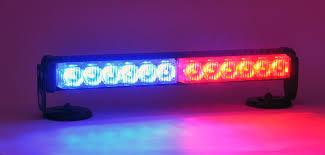 Led Blue Police Lights P2x6 Red Blue Led Dash Deck Interior Light Bar