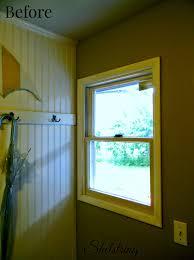 Shaker Window Trim Shelstring Blog Mud Room Window Customizing