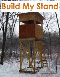 free deer hunting shooting house plans design diy build stand google search box
