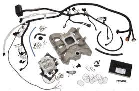 5 7l and 6 1l hemi intake manifolds mopar performance · 5 7l hemi conversion package carbureted intake kit