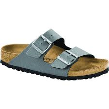birkenstock arizona birko flor icy metallic anthracite stan s fit for your feet