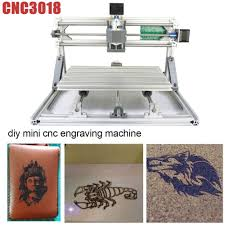 details about 3 axis diy cnc 3018 wood engraving carving pcb milling machine router engraver