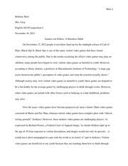 lord of the flies essay redone joseph cebuhar cebuhar mrs 6 pages argument essay