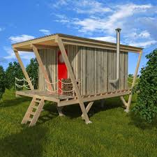 Elevated Tiny House Plans Susan