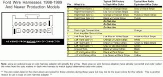 ford radio wiring harness adapter diagram electrical circuit 2000 ford taurus aftermarket radio wiring harness diagrams for 2001 rhpanoramabypatysesma ford radio wiring harness
