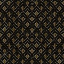 Art Nouveau Op Het Decoratief Patroon Jeetx