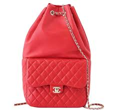 chanel bags red. chanel classic backpack bag red lambskin bags