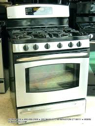 ge profile double oven adorable free standing ran 30 stainless steel90