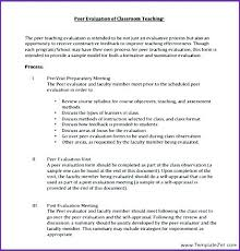 Gallery Of Peer Evaluation Form Sample Employee Self Assessment ...