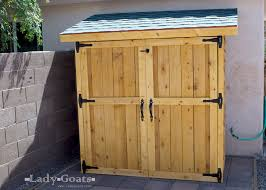 Outdoor Storage Cabinets With Doors Fancy Outdoor Storage Closet Plans Roselawnlutheran