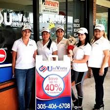 Auto, homeowners, commercial, life and health. Univista Insurance Miami Gardens Arianna San Juan Financial Or Legal Service
