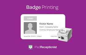Badge Office New Feature Visitor Badge Printing The Original Visitor