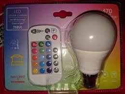 Tesco Led Lights Remote Colour Led Bc B22 Bulb 3 Instore Tesco Hotukdeals