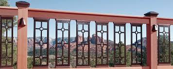 decorative deck railings. decorative deck railings dekor lighting
