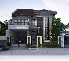 Terrace Designs For Small Houses In The Philippines Modern Two Storey And Terrace House Design Ideas Simple Home