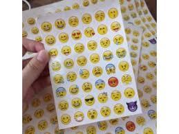 Samolepky Emoji Sleva 20