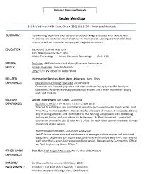 Veteran Resume Samples Resume Samples For Veterans Resume Examples Resume Template
