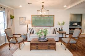 Painted Living Room Walls The Ultimate Fixer Upper Inspired House Color Palette Hgtvs