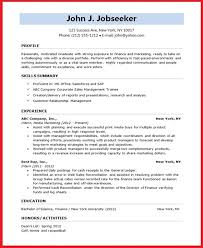 Resume Formats For Students Resume Sample