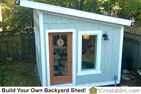 storage shed office. Backyard Office Plans Full Image For Build Your Own Storage Shed Lean To .