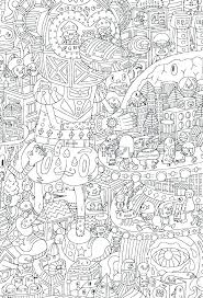 Coloring Pages Difficult Printable Pinterest Creativeinfotechinfo