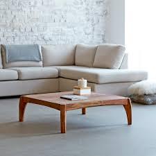 Living Room Table Sheesham Living Room Table 95x95 Luna Living Room Table Tikamoon