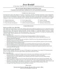 Operations Resume Examples Business Management Resume Examples Airexpresscarrier Com