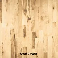 grade 3 maple hardwood flooring