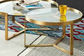 made com aula nesting coffee table in