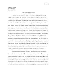 Example Of Persuasive Essay On Global Warming Global Warming Essay Examples Climate Change And Global Warming