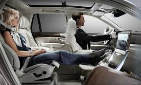 volvo xc90 interior 2016. volvou0027s lounge console is the ultimate in chauffeured pampering volvo xc90 interior 2016