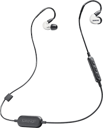 Shure se215 bt1 white sound isolating™ earphones with wireless bluetooth® adapter cable at crutchfield