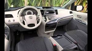 Toyota Sienna 2016 CAR Specifications and Features - Interior ...