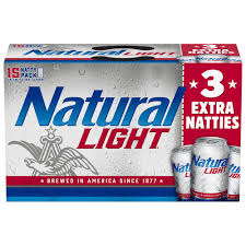Pack Of Natty Light Natural Light 15 Pack 12 Oz Can