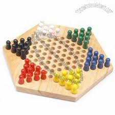 Wooden Peg Board Game Adult wooden peg board game A game for two to six players 98