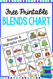 Blends And Digraphs Chart Free Printable Free Printable Blends And Digraphs Chart Homeschool Giveaways