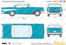 The-Blueprints.com - Vector Requests - Chevrolet Bel Air Sport ...