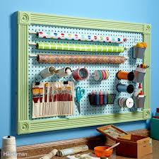 Pegboard Display Stands Uk Organize Anything With Pegboards 100 Ideas And Tips Family Handyman 34