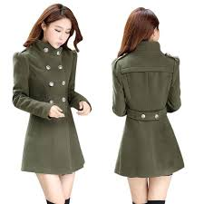 womens double ted slim windbreaker long trench coat