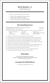 Lvn Resume Lvn Resumes Resume Sample For New Grad 100x100 Examples Of 47