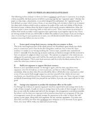 argumentative essay writing argumentative essay
