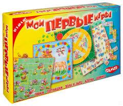 <b>Набор</b> настольных игр <b>Dream Makers</b> Мои первые игры (1164H ...