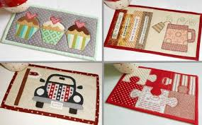 Mug Rug Patterns Simple 48 Hobby And Fun Time Mug Rug Patterns In One Quilting Digest