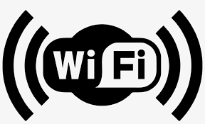 Logo Wifi Png Png Black And White Stock - Wifi Transparent PNG - 1600x895 -  Free Download on NicePNG