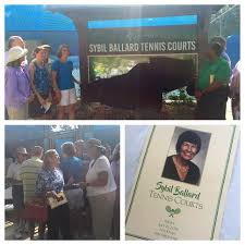 """City of Tallahassee on Twitter: """"Friends & family join City Commissioners  to name the tennis courts at Winthrop Park in honor of Sybil Ballard.… """""""